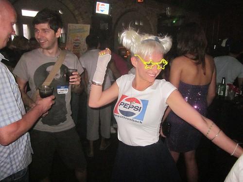 Casie Stewart at Pepsi Throwback Event College St