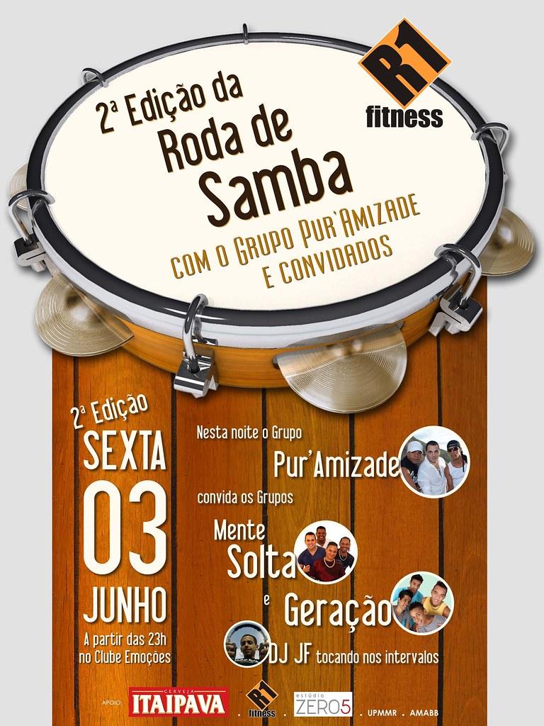 Roda de Samba do Grupo Puramizade no Clube Emoções