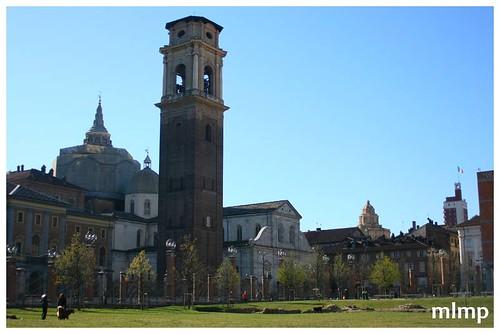 Le campanile se voit bien
