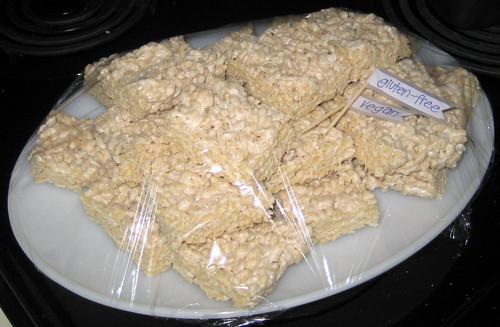 rice crispie cake