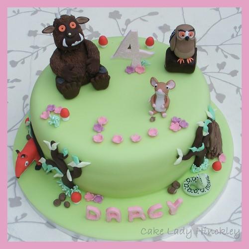 My Daughters 4th Birthday Gruffalo Cake