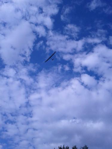 Le #solarimpulse au dessus de ma maison!!!