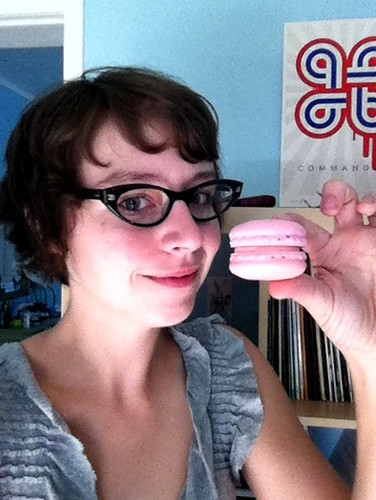 Rosewater Macaron from Pistache Pastry