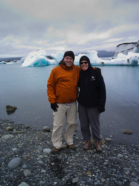 Jennifer and Laurence at Glacial Lagoon