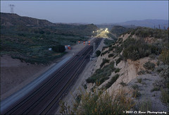 Reference Photo - C.P. Summit at Night [2011 Solstice Study] (El Roco Photography) Tags: california railroad santafe train canon outdoors photographer desert rail trains socal mojave transportation summit locomotive ge silverwood railfan bnsf trainspotting cajon desertlandscape mojavedesert freighttrain sanbernardinocalifornia desertflora inlandempire sanbernardinocounty forestservice emd atsf usfs burlingtonnorthernsantafe desertmountains cajonpass es44dc gevo railfans alltrains alray stacktrain bnsfrailroad traininaction burlingtonnorthernsantaferailroad hill582 movingtrains desertshrub desertbeauty deserttrains aphotographersnature elrocophotography sanbernardinorailroads forestserviceroad3n45 bnsfcajonsubdivision