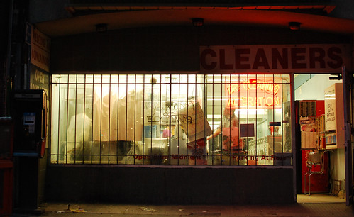 Fairbanks Village cleaners on a Wednesday night - #171/365 by PJMixer