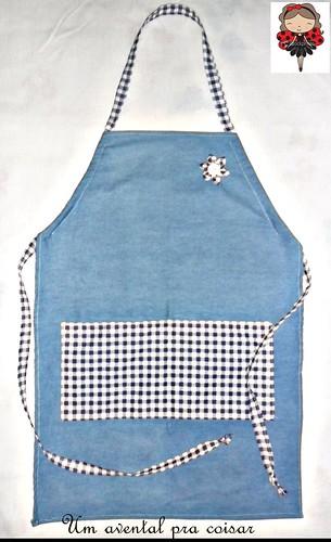 Um avental reciclado... by Coisando as Coisas by Clau