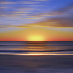 Number7Dream (wesbs) Tags: ocean sunset sky blur clouds sand hss sliderssunday
