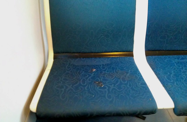 POTD: Siemens train seats