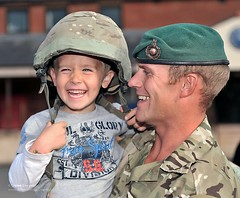 Royal Marine from 40 Cdo Returns from Afghanistan to be Greeted by his Son (Defence Images) Tags: uk family boy afghanistan smiling children child military families somerset homecoming return winner british defense troops defence taunton personnel royalnavy publicrelations royalmarines exeterairport identifiable nortonmanor 40commando returningunit frontlineoperations royalmarineunit winner11 peregeine11