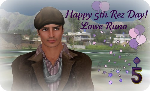 Happy 5th Rez Day Lowe Runo