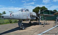 Sepecat Jaguar at RAF Manston Museum (Beer Dave) Tags: museum aircraft jet jaguar raf manston sepecat