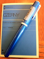 CZERNY Nr.30 notebook & Sailor Candy fountain pen