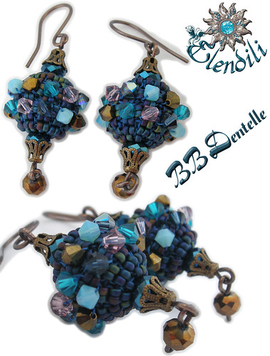 Pendientes BB Dentelle by **Elendili**