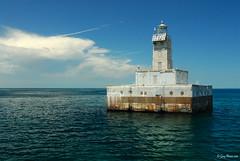 Lansing Shoal (lighthousefoto1) Tags: lighthouse michigan lakemichigan lighthousetrek lansingshoal