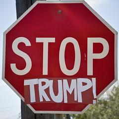 Stop Trump (Ron Rothbart) Tags: trump political sign stopsign