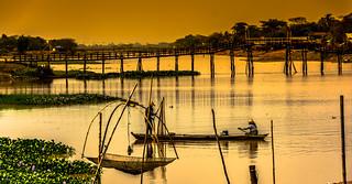 Pêcheurs du soir (golden hours...)