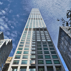 432Park (hiimlynx) Tags: 432 432park park parkavenue manhattan manhattanskyline skyscrapers skyscraper newyork newyorkskyline nyc ny sky clouds skyline september 2016 fall blue highrise