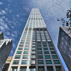 432Park (elizaroff) Tags: 432 432park park parkavenue manhattan manhattanskyline skyscrapers skyscraper newyork newyorkskyline nyc ny sky clouds skyline september 2016 fall blue highrise