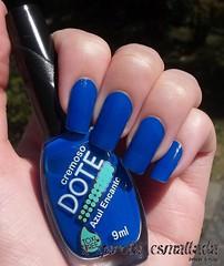 Esmalte Azul Encanto, da Dote. (A Garota Esmaltada) Tags: agarotaesmaltada unhas esmaltes nails nailpolish dote azulencanto azul blue
