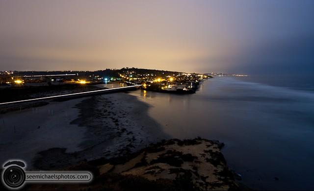 Del MAr Dog Beach at Night 32011 © Michael Klayman-006