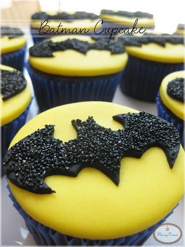 Batman Cupcake!