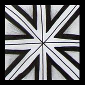 intersection (Mafe.Mavromati) Tags: pattern doodle freehand tangle tutorial stepbystep padro passoapasso micronpen zentangle zendoodle