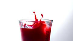 Splash (fsm vpggru) Tags: milk droplet splash 169 liquid shotglass 16by9