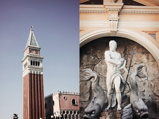 Epcot World Showcase Italy diptych