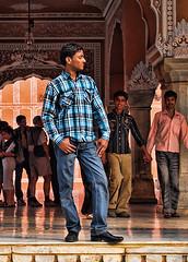 That's Right, I'm Hot (collette v) Tags: india men vanity posing holdinghands jaipur gapadventures ahdk