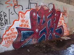 JAIL (Reckless Artist) Tags: bridge building art minnesota graffiti midwest paint cities twin spray jail tc graff mn colddayfun