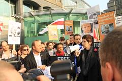 IMG_2396 (czalex) Tags: london kevin demonstration jude law belarus spacey  lukashenko lukashenka
