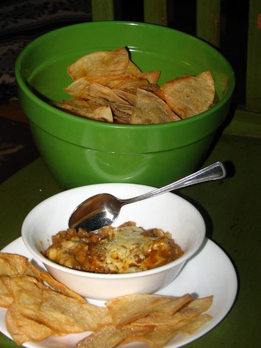 tacoritos and bake tortilla chips