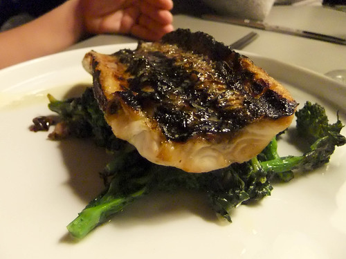 Grilled Sea Bass, Fish Tag