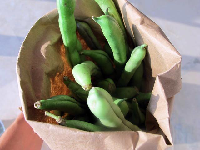 Este feijões verdes...