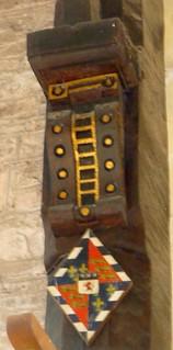 Chancel Screen Armorial, St Bartholomew's Church, Vowchurch