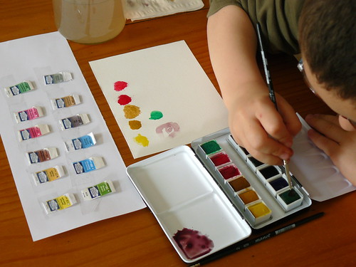switching to great quality watercolors