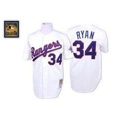 Texas Rangers #34 Nolan Ryan White Throwback Jersey (Terasa2008) Tags: jersey texasrangers  cheapjerseyswholesale cheapmlbjerseys mlbjerseysfromchina mlbjerseysforsale cheaptexasrangersjerseys