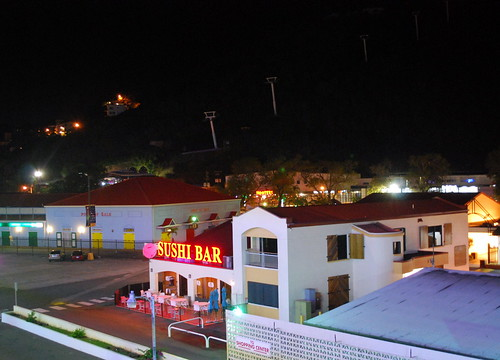 St Thomas at Night