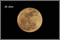 La Luna (Moniza*) Tags: moon luna celestial moniza
