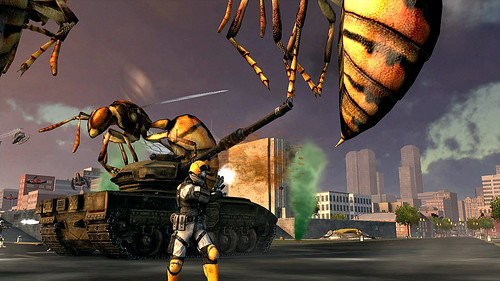 Earth Defense Force: Insect Armageddon for PS3: WASP