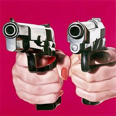 James Rosenquist, No-no, 1990 (kraftgenie) Tags: usa gun hand rosenquist