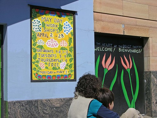 MayDay workshops sign