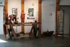 Verkaufsstand von Vikingr-Kontor in der Kassenwabe vom Wikinger Museum Haithabu WMH 02-04-2011