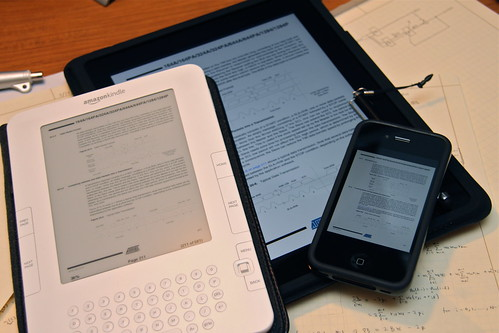 PDF Viewers: iPad, iPhone, and Kindle