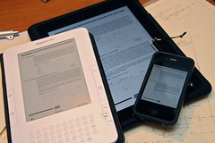 PDF Viewers: iPad, iPhone, and Kindle [Photo by Yutaka Tsutano] (CC BY-SA 3.0)