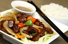 Beef Stir Fry w/ Rice (gtsomething) Tags: food juicy yummy rice chinesefood beef tasty delicious steak stirfry chinesecuisine gtsomething