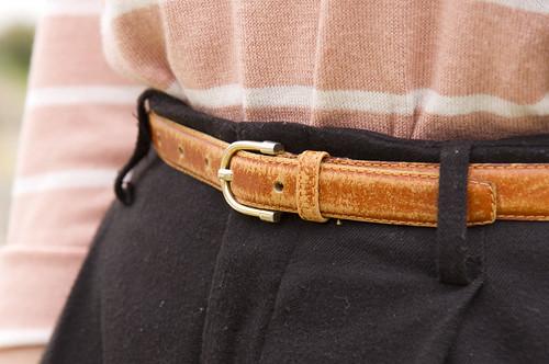 stripes, buckles & pleats