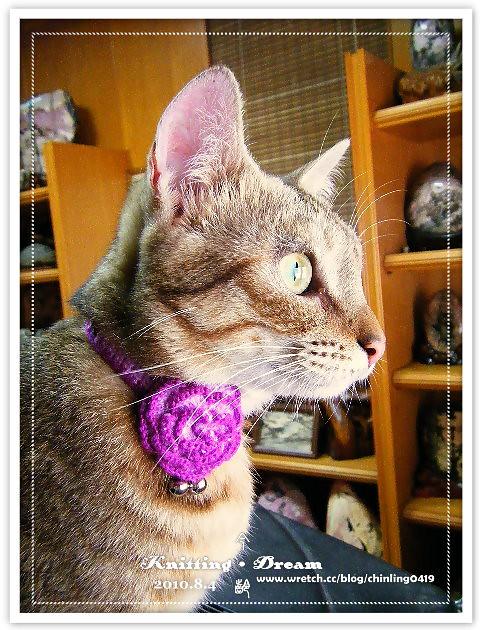 momo紫色花項圈3