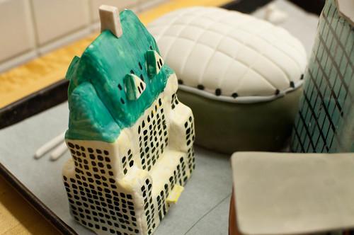 Vancouver 125 birthday cake elements